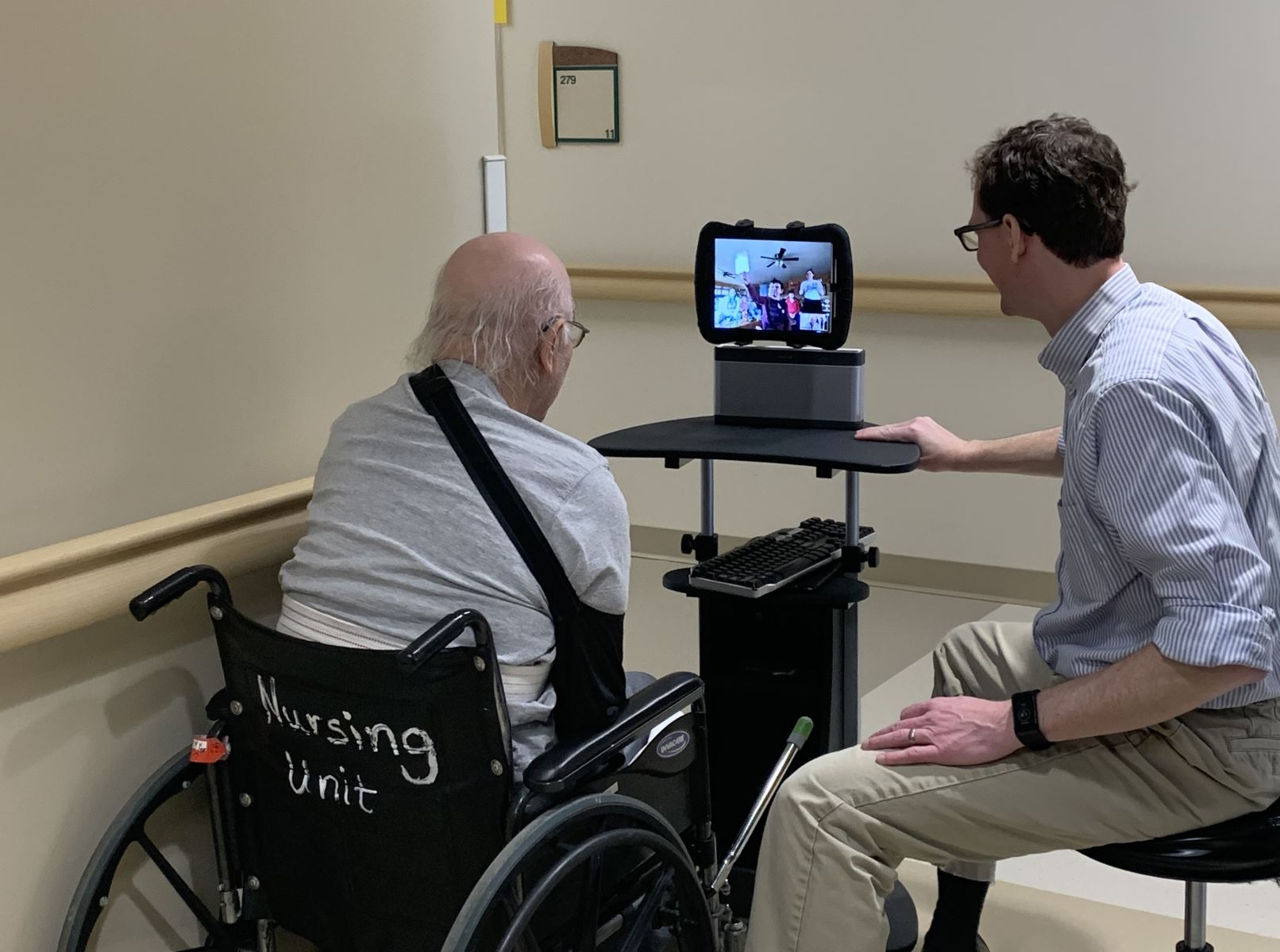 Family Sees Stroke Survivor's First Unassisted Steps Thanks to Telehealth Technology